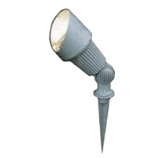 Beta 12 Plug & Go 3w LED Matt Silver Spike Spot Light