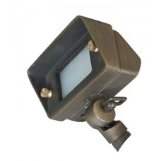 Bronze 10 Plug & Go 2w Small Rectangle Bronze Spot Light