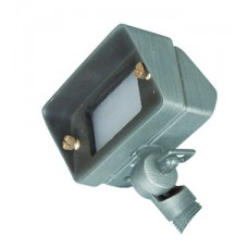 Bronze 11 Plug & Go 2w Small Rectangle Verdigris Spot Light