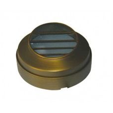 Bronze 23 Plug & Go 1w LED Bronze Gill Round Step Light