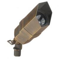 Bronze 3 Plug & Go 3w LED Aged Bronze Hexagon Spot