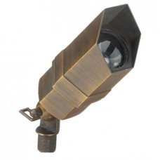 Bronze 3 Plug & Go 3w LED Aged Bronze Hexagon Spot