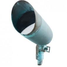 Bronze 8 Plug & Go 3w LED Plain Verdigris Spot Light