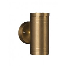 Elite 2 Mains 2 x 3w LED Solid Brass Up & Down Light