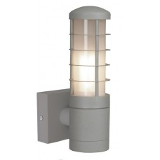 Beta 1 Mains 3w LED Matt Silver Wall Light